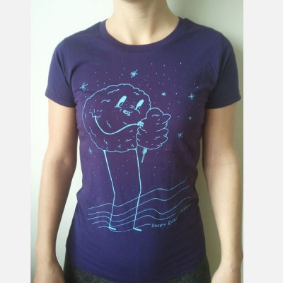 Sweet Sweet Moon - T-Shirt purple