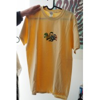 Vague - T-Shirt - yellow