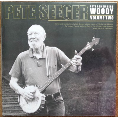Pete Seeger ‎– Pete Remembers Woody: Volume Two - 2LP