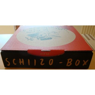 The Striggles - Schiizo Box - 5x7""